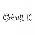 Schrift 10